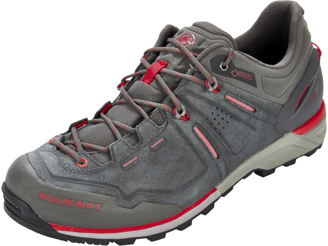 Mammut Alnasca Low GTX Chaussures Homme, graphite-magma